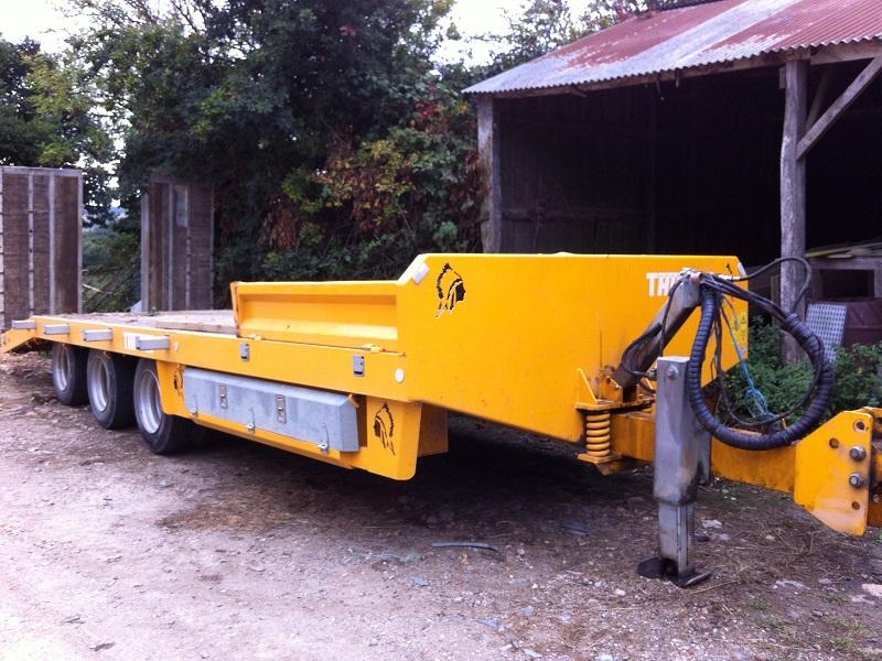 Camion A Vendre >> Porte engin agricole occasion 3 essieux
