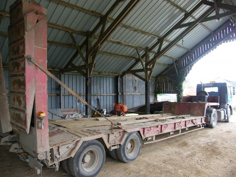 Porte Engin Tracteur Routier Occasion - Porte engin occasion 2 essieux